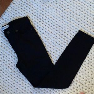 Madewell Sateen high riser skinny pants
